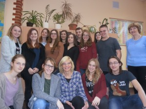 Part of the Polish group